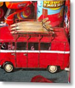 Surf Bus Metal Print