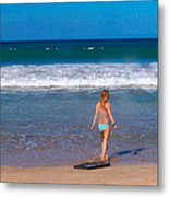 Surf Up Metal Print