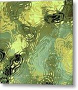 Surface Of An Ohio Creek Metal Print
