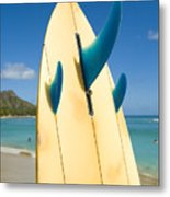 Surfboard Metal Print by Dana Edmunds - Printscapes
