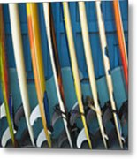 Surfboards Metal Print by Dana Edmunds - Printscapes