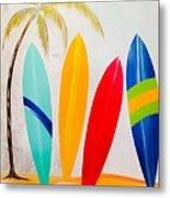 Surfboards II Metal Print