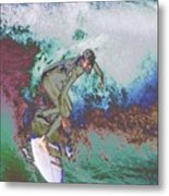 Surfer 3 Metal Print