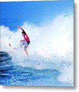 Surfer Alex Ribeiro - Nbr 3 Metal Print