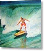 Surfer Dude Metal Print