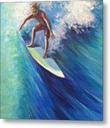 Surfer II Metal Print