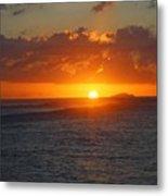 Surfers Beach Metal Print