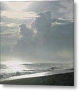 Surfer's Paradise Playa Hermosa South Of Jaco Costa Rica Metal Print