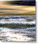 Surfer's Sunset Metal Print