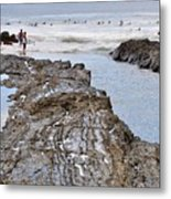 Surfers Waterways Metal Print