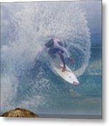 Surfin The Sky 01 Metal Print