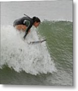 Surfing 170 Metal Print