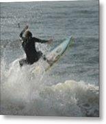 Surfing 65 Metal Print
