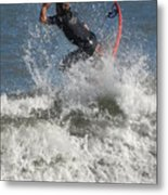 Surfing 92 Metal Print