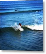Surfing Boy  Metal Print