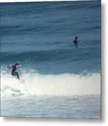 Surfing Carmel Beach Two Metal Print
