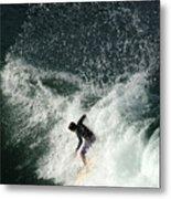 Surfing Hawaii 4 Metal Print