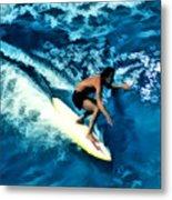Surfing Legends 12 Metal Print
