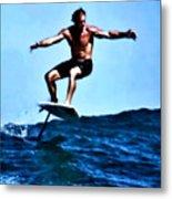 Surfing Legends 5 Metal Print
