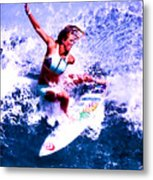 Surfing Legends 6 Metal Print