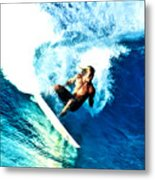 Surfing Legends 9 Metal Print