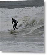 Surfing, N. Hampton Nh Metal Print