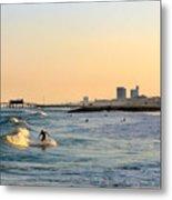 Surf's Up Metal Print by Arthur Herold Jr