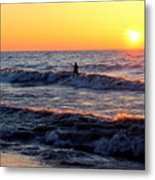 Surf's Up Grand Bend Metal Print