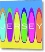Surfs Up - Jersey Metal Print