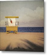 Surf's Up W Textures Metal Print