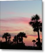 Surfside Sunset Metal Print