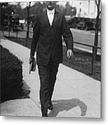 Surgeon General Walks To Work Metal Print