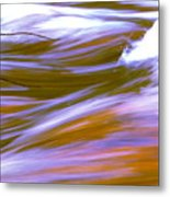 Surging Currents Metal Print