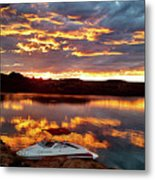 Surise On Lake Powell Metal Print