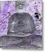 Surreal Buddha Metal Print