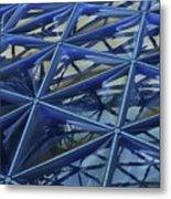 Surreal Dome Glass Metal Print