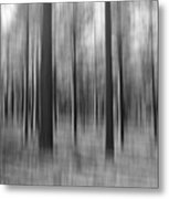 Surreal Forest Abstract. Metal Print