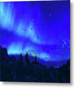 Surreal Nights Metal Print