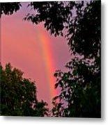 Surround The Rainbow Metal Print by Amanda Struz