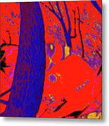 Surrounded 6 Metal Print