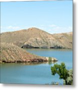 Surrounded By Mountains Metal Print