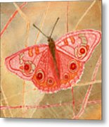 Survival Butterfly Metal Print