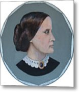 Susan B Anthony Coin Metal Print