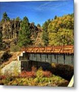 Susan River Bridge On The Bizz Metal Print