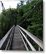 Suspension Bridge 3 Metal Print