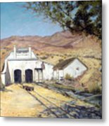 Sutro Nevada Metal Print by Evelyne Boynton Grierson