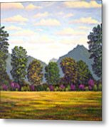 Sutter Buttes In Springtime Metal Print