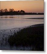 Suwanee River At Dusk Metal Print