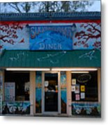 Suwannee River Diner Metal Print