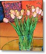 Suzannes Flowers Metal Print